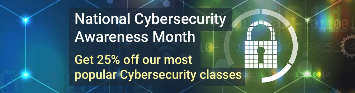 Cybersecurity Month Specials