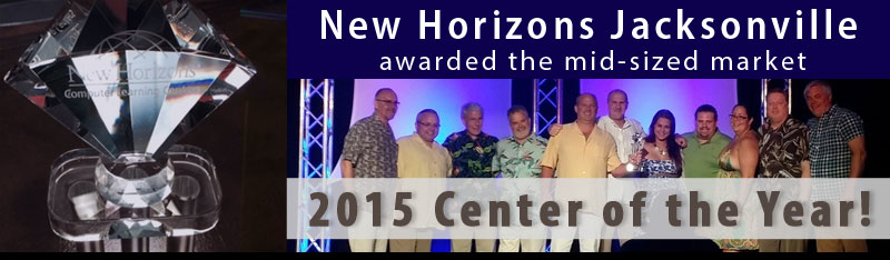 2015 New Horizons Center of the Year Award